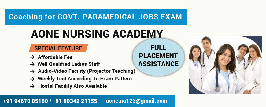 Govt. Paramedical Jobs coaching,Govt. Paramedical Jobs coaching Bahadurgarh,Govt. Paramedical Jobs coaching Rohtak,,Govt. Paramedical Jobs coaching Delhi,,Govt. Paramedical Jobs coaching Delhi NCR,Aone Nursing Academy